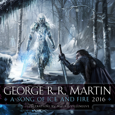 Song of Ice & Fire 2016 Calendar